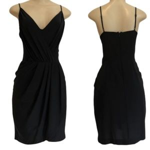 Yumi Kim Jayne dress black silk sleeveless S
